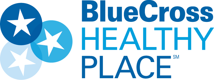 Bluecross Healthy Place Logo